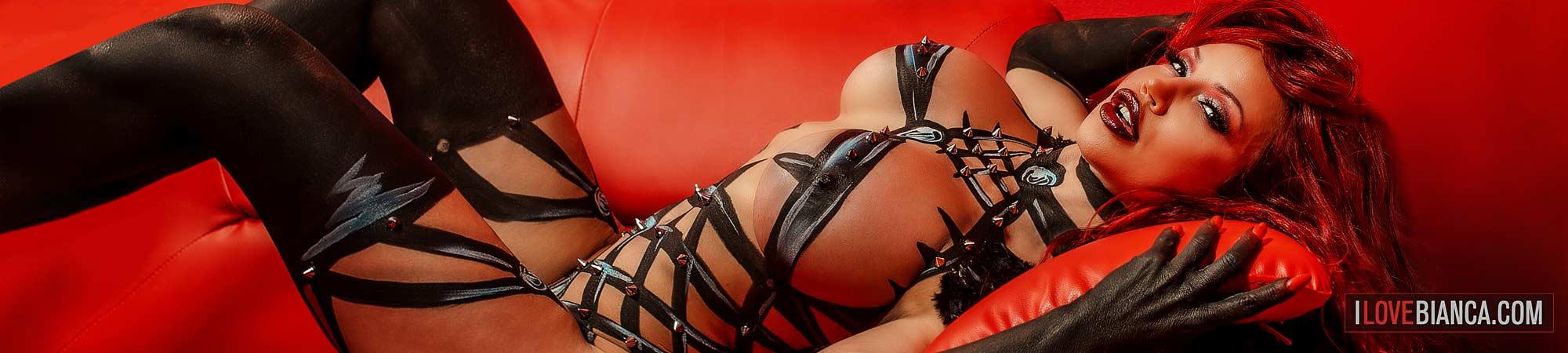 Bianca Beauchamp Official Website : Latex, Glam, Lingerie Photos + Videos