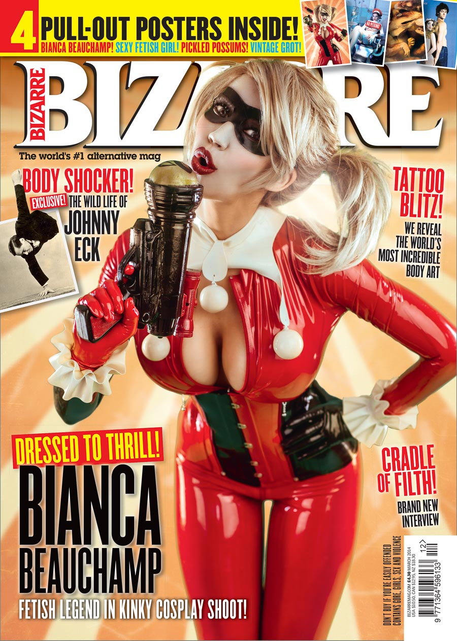 bianca beauchamp magazine cover bizarre 2014