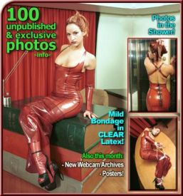 02 mild bondage in clear latex covers 011