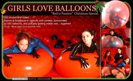 12 girls love balloons covers 01