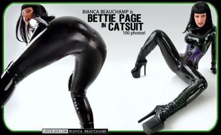 10 bettie page in catsuit covers 2005 10 bettiepage 01