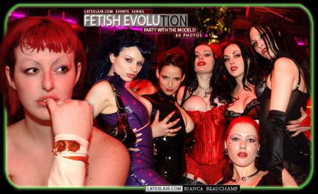 10 fetish evolution party with the models covers 2005 10 fetevolution 01