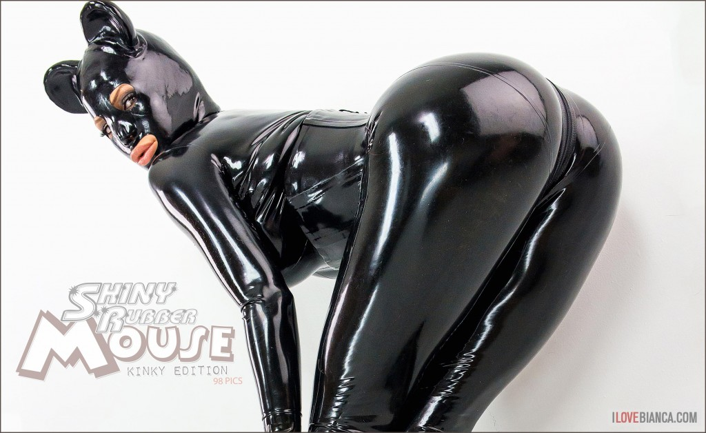 Shiny Rubber Mouse Bianca Beauchamp Official Website Latex Glam Lingerie Photos Videos
