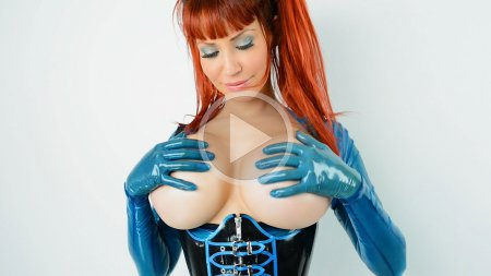05 bianca beauchamp blue latex lollipop screenshotplay