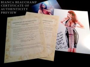 , STORE: Bianca's new memorabilia from her blonde era added!