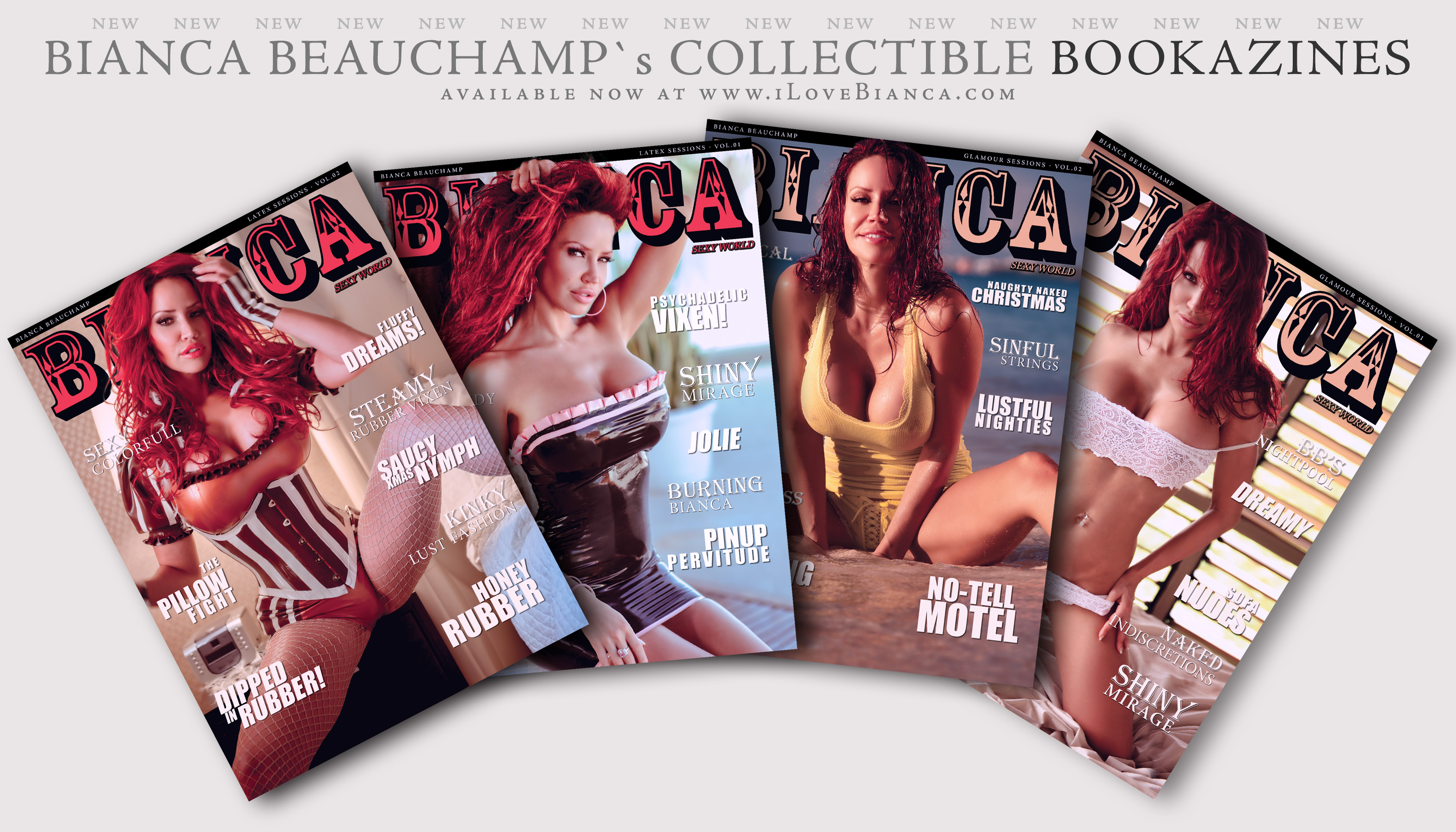 , [NEW] Get Bianca's brand new BOOKAZINES at 33% OFF!