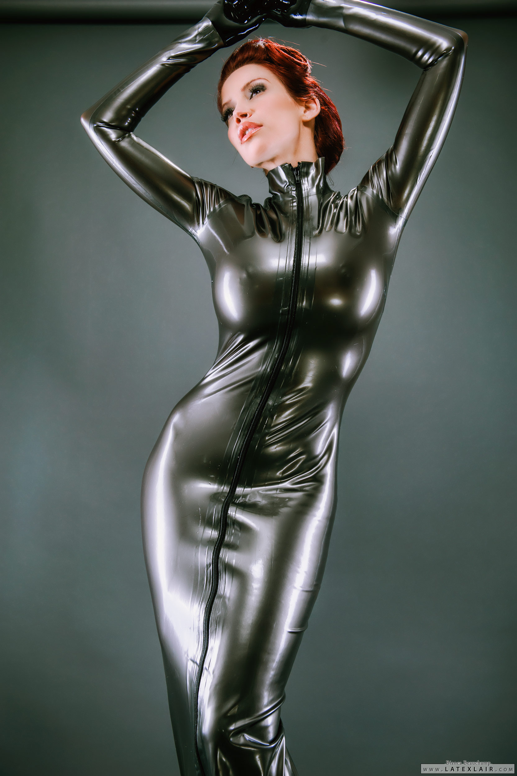 latex dress dateing